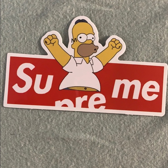 Supreme Other - supreme sticker